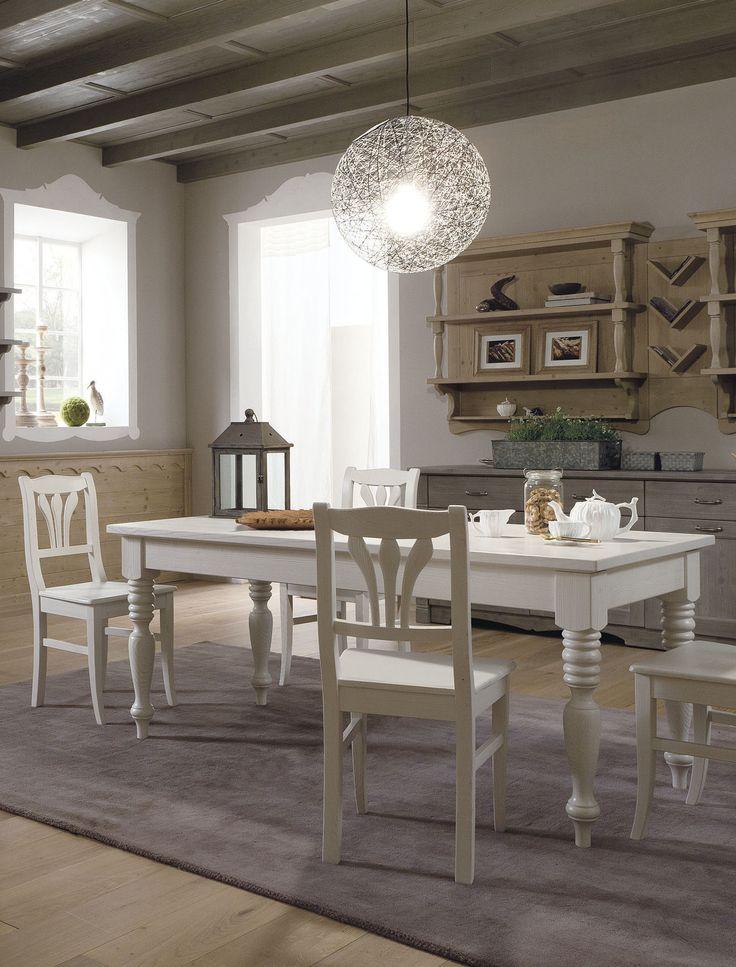 Tavolo Tabià di Scandola Mobili. / Tabià table by Scandola Mobili.  #Scandola #complementi #accessories