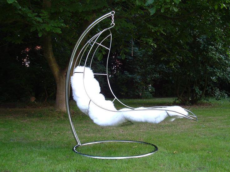 необычные садовые качели металл - Поиск в Google