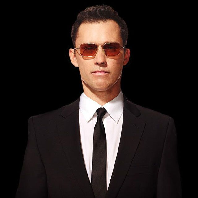 Oliver Peoples | Victory Gold with Cognac Polarized Glass Sunglasses by Oliver Peoples #burnnotice