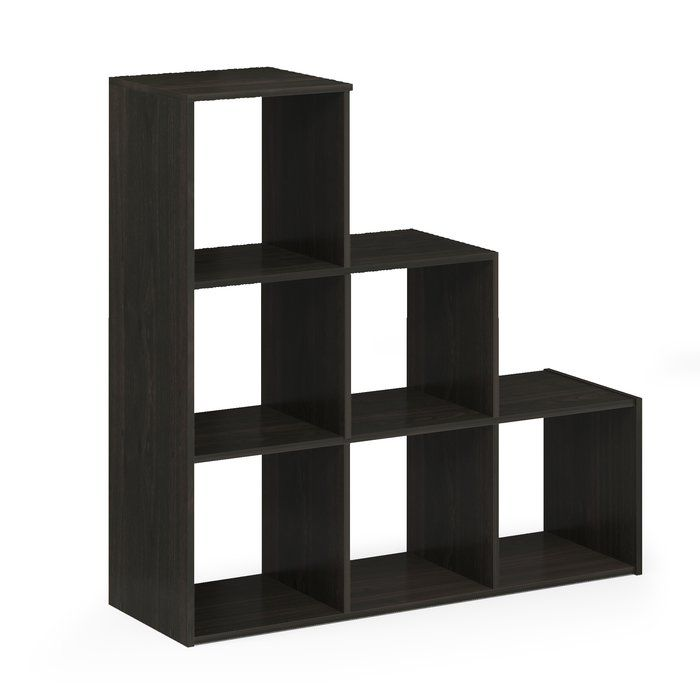 Anzalone Step Bookcase Bookcase Dining Room Furniture Modern Step Bookcase