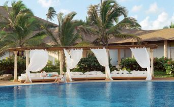 Excellence Punta Cana Adults-Only, #allinclusive resort! Love the looks of this pool!