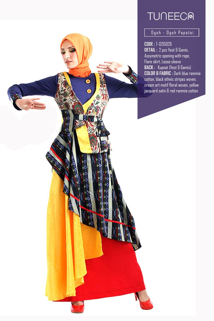 The Journey From Sambas by Tuneeca  #tuneeca #muslimwear #hijab #fashion #casualwear #tuneeca #muslimwear #hijab #fashion