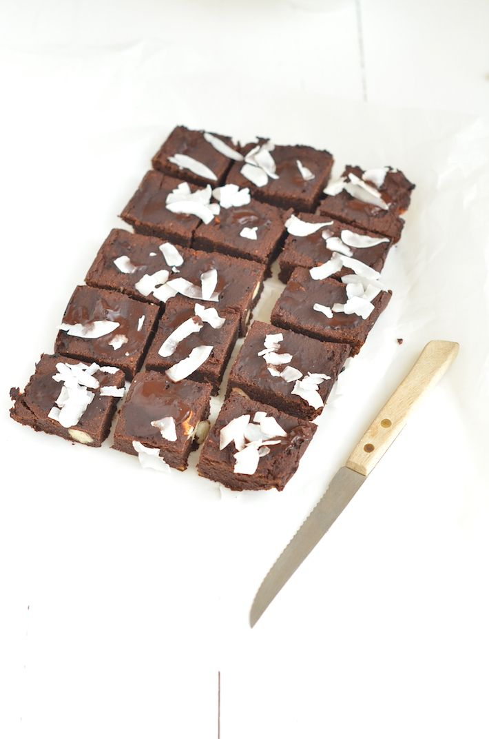 Healthy brownies by Rens kroes
