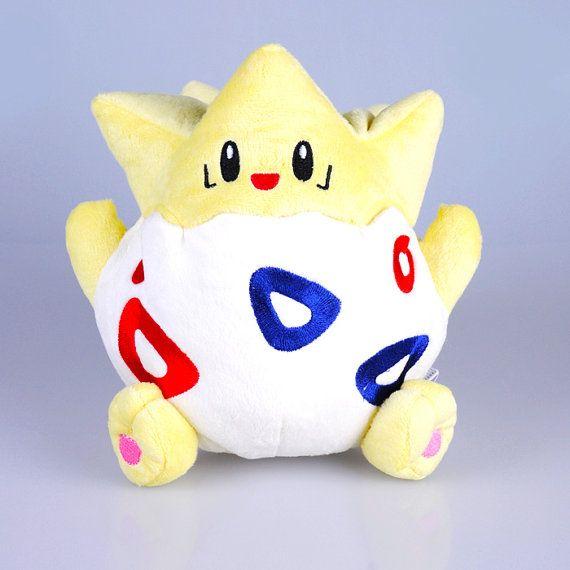Togepi Pokemon Plush Toy Stuffed Doll Pocket by PlushFriend, $19.99