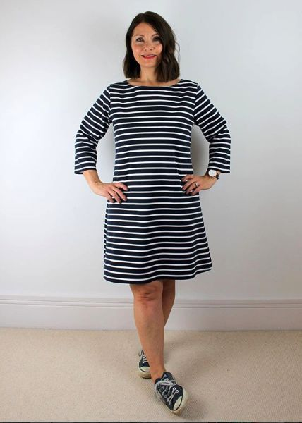 Kathy's Coco Dress sewing pattern by Tilly and the Buttons