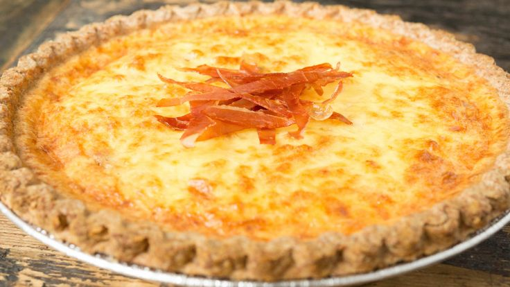 This bacon lover's quiche is made extra creamy with fresh duck eggs. The quiche is stuffed with bacon