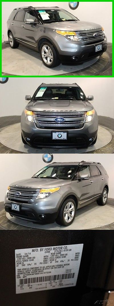 SUVs: 2014 Ford Explorer Limited 2014 Ford Explorer Gray Suv Limited 4Wd -> BUY IT NOW ONLY: $5100 on eBay!