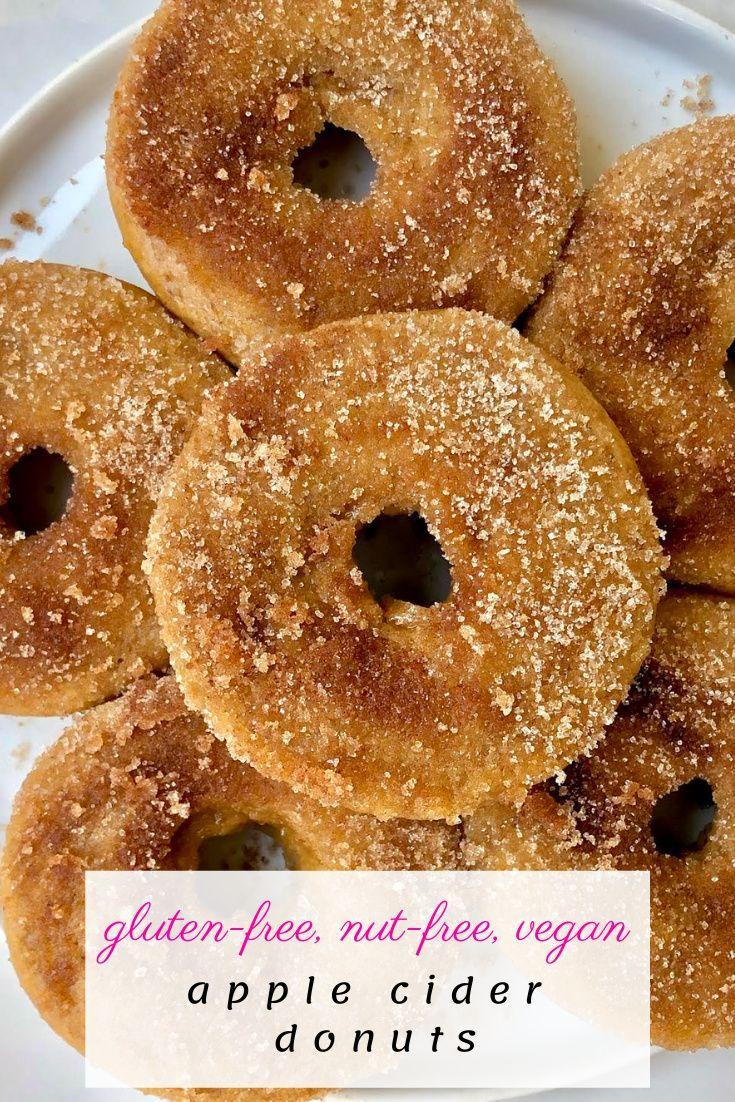 Apple Cider Donuts Regular Gf Vegan Figgin Delicious In 2020 Apple Cider Donuts Cider Donuts Paleo Lemon Blueberry Muffins