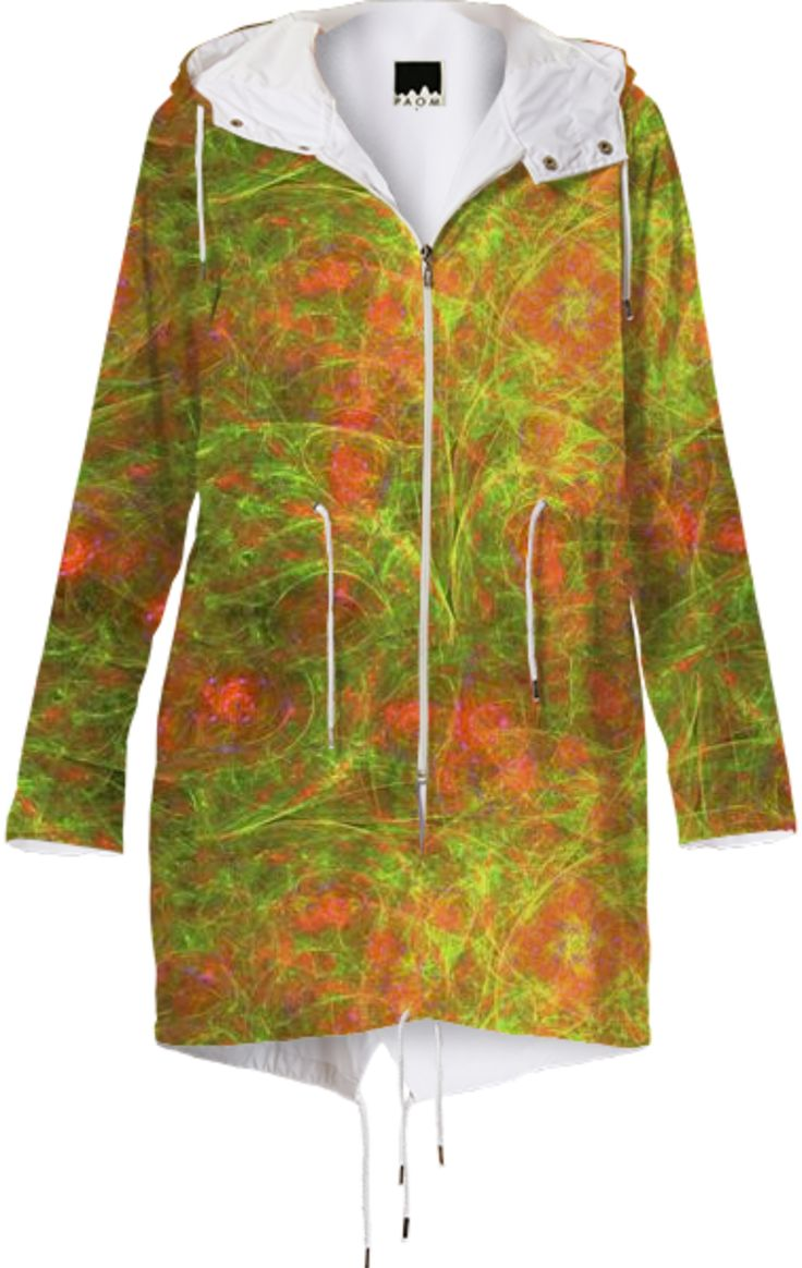 Great looking raincoat with my print.