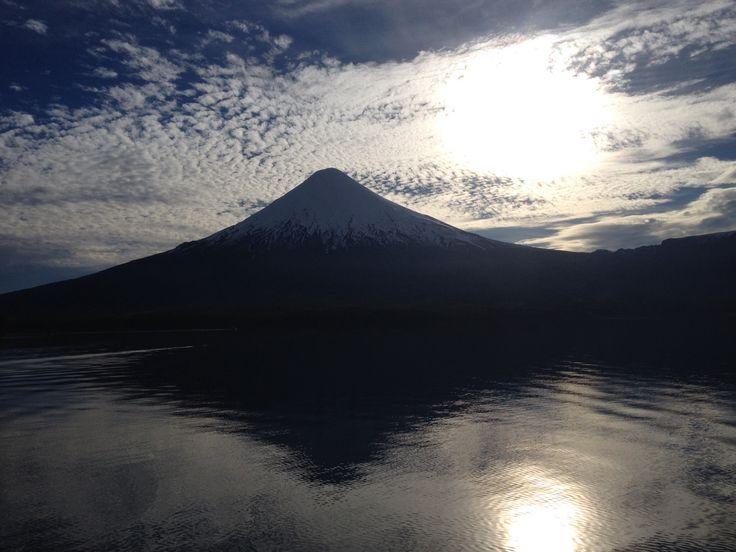 Volcán Osorno, lago Todos los  Santos