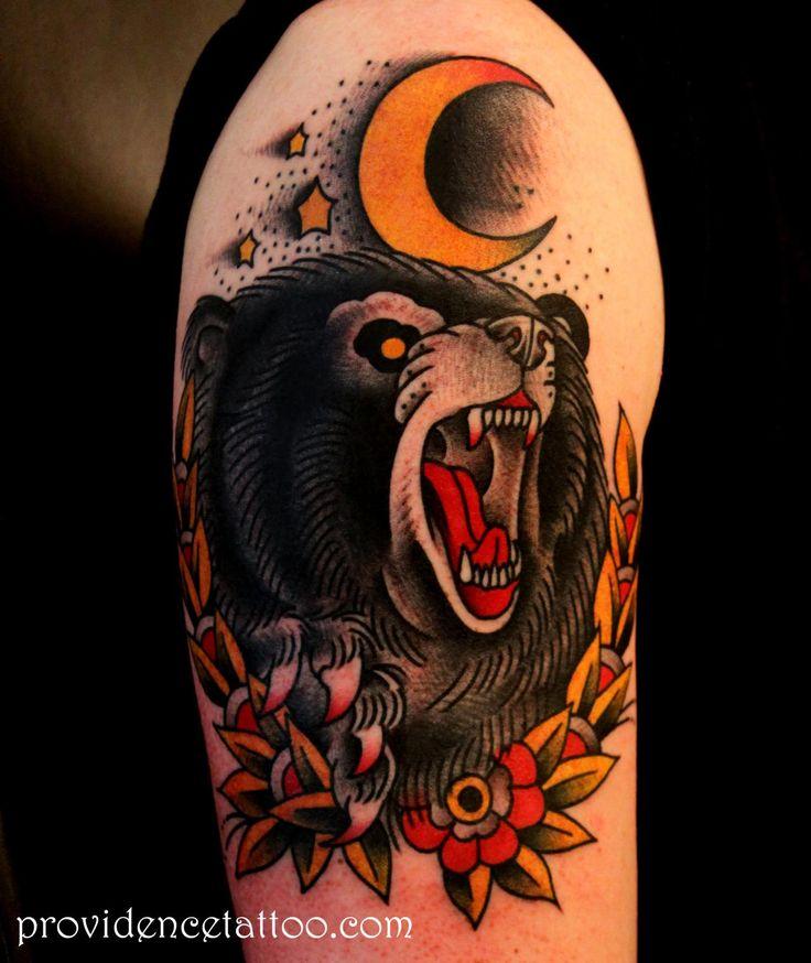 Traditional bear tattoo | Tattoo ideas | TATTOO OLD SCHOOL ...
