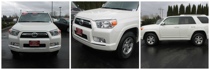 At Toyota of Puyallup we have a great selection of certified used cars. Check out the 2013 Toyota 4Runner's box shaped body, that gives this SUV all the feel of a truck!