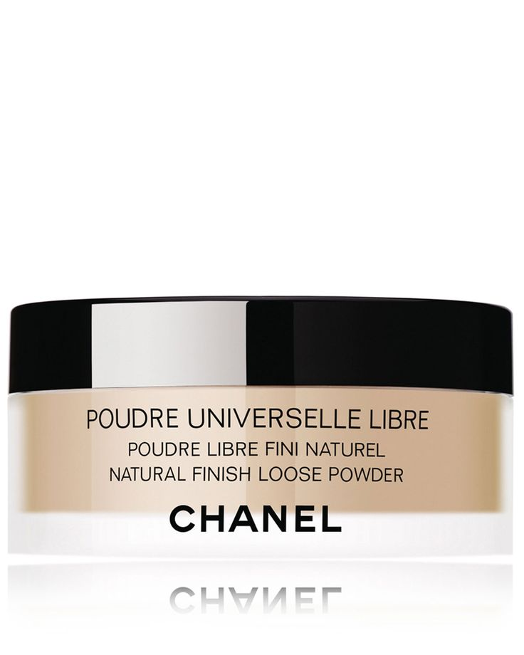 CHANEL POUDRE UNIVERSELLE LIBRE Natural Finish Loose Powder DetailsImparts a translucent, natural matte finish when applied over makeup in the morning or as an anytime touch-up. Ultra-fine lightweight