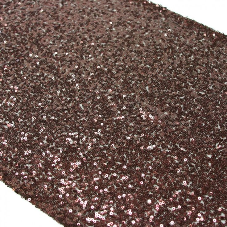 sequin table runner brown brown sequin table runner wholesale wedding supplies discount wedding favors party favors and bulk event supplies - Discount Table Linens