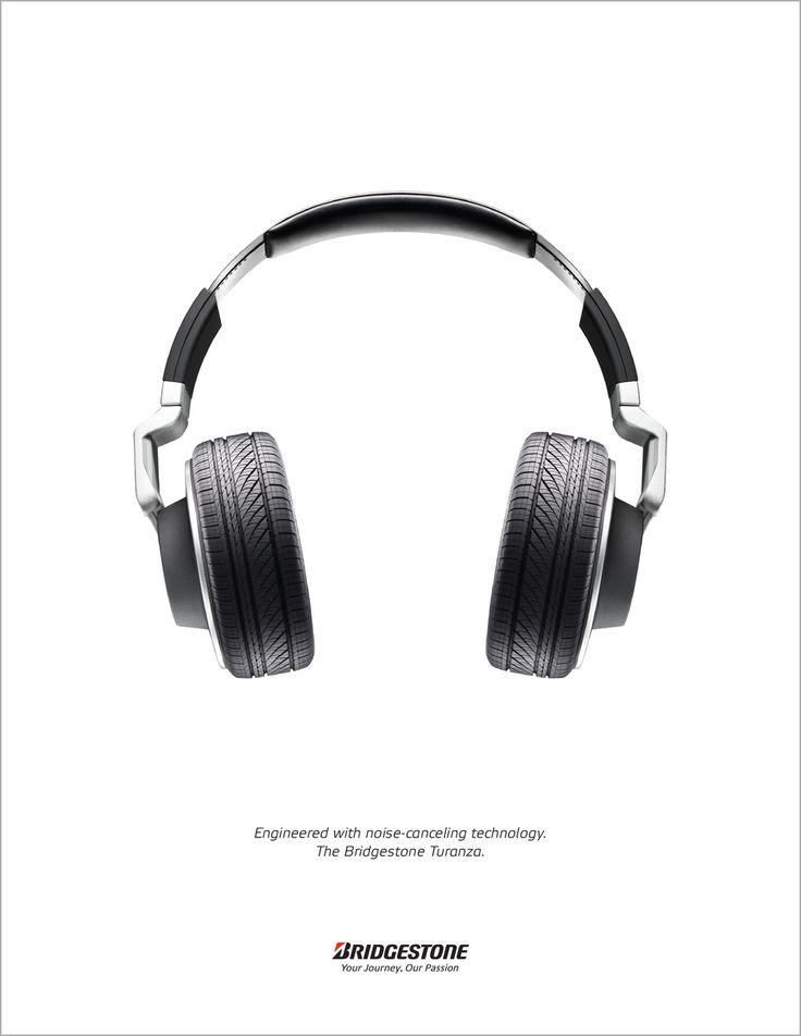 """Engineered with voice-canceling technology. The Bridgestone Turanza."" by Julius Prilianto"