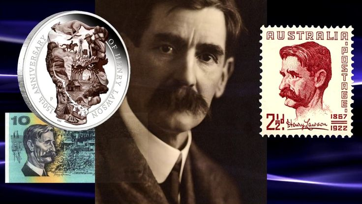 Australia Remembers Poet Henry Lawson on 5oz Silver Coin