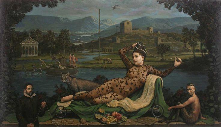 Alan MacDonald, 'Dedicated Followers of Passion', oil on linen | Scottish Contemporary Art
