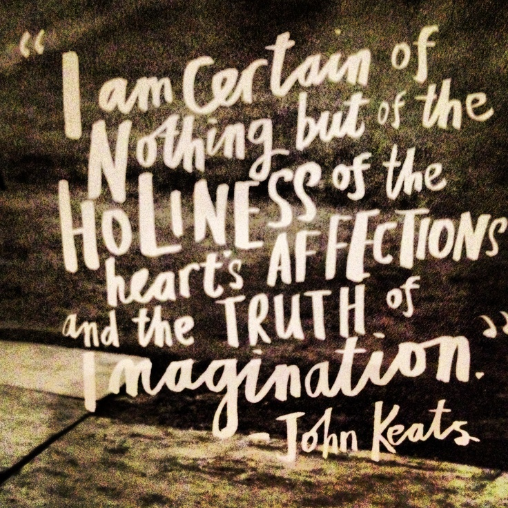 keats and the imagination John keats (1795-1821) poetry, complete list of keats's romatic poems by alphabet - odes, epistles, love poems, short poems, sonnets, lamia, endymion, hyperion.