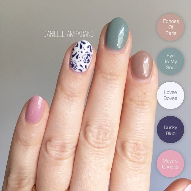 Gelmoment Mixed Manicure Gel Nails Nails Inspiration Manicure