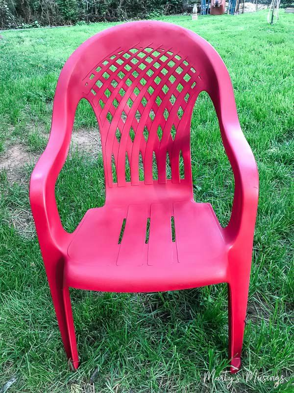 Ugly+plastic+chair+makeover