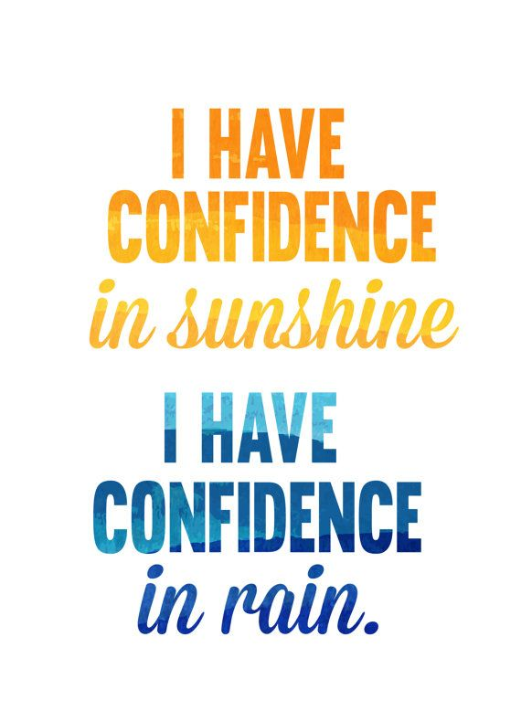 i have confidence in sunshine i have by studiomarshallarts on Etsy, $5.00