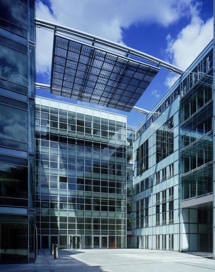 Cartier HQ Paris - Shading device courtyard