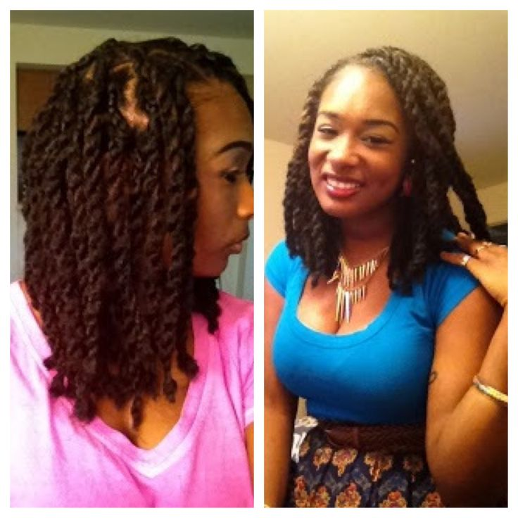 I really want these shorter twists or even braids...short marley twists.