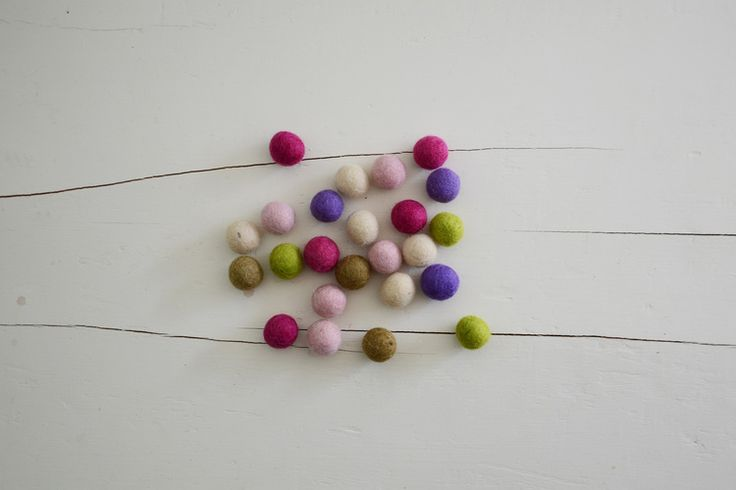 fairy felt balls | enchanted fairies party | Jade Celebrations | party boxes | party in a box