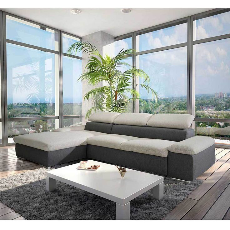 Ecksofa mit Bettfunktion Grau Jetzt bestellen unter: https://moebel.ladendirekt.de/wohnzimmer/sofas/ecksofas-eckcouches/?uid=3b7b87c1-c620-58a1-9c1a-fdda4f746440&utm_source=pinterest&utm_medium=pin&utm_campaign=boards #sofa #couch #ecksofaseckcouches #funktionsecke #wohnl #eckgarnitur #sofas #schlafcouch #schaft #schlafsofa #ecksofa #wohnzimmer #eckcouch #funkt #polsterecke