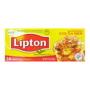 Lipton Tea Bags - Family Size, 24 ct - Pick it up at DG or DG.com!