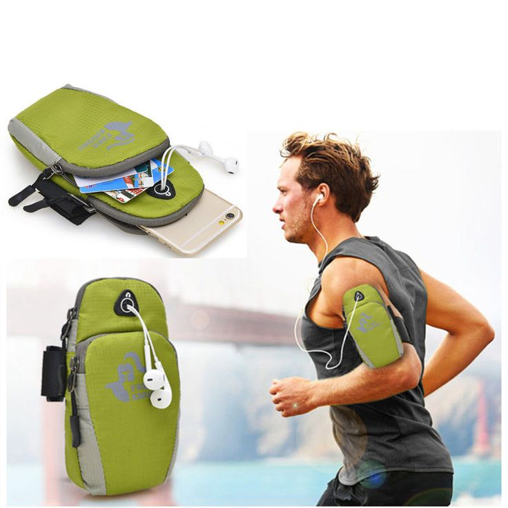 Waterproof Arm Band Running Case Sports Black Armband Phone Holder Gym Jogging #WaterproofArm