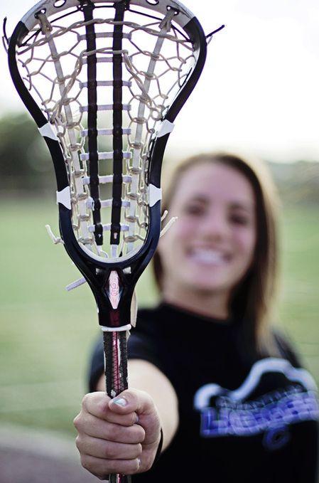 Lacrosse Senior Portrait