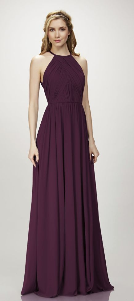 Featured Dress: THEIA; bridesmaid dress idea.