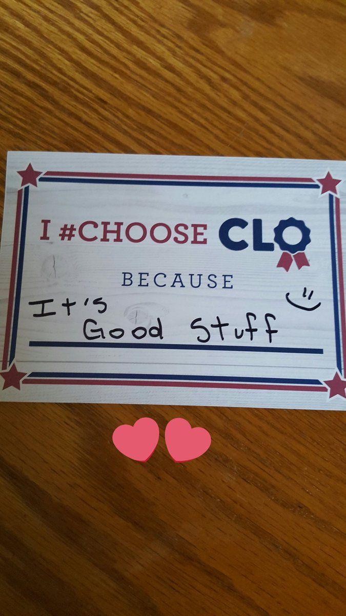 #chooseclo on Tagboard