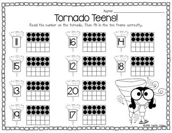 Tornado Teens Freebie