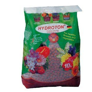 Easy Green Hydroton Growing Media -Hydroton grow rocks are a special kiln-fired, lightweight aggregate that is super-heated and formed into pebbles 8-16 mm in size. The ceramic shell and inner pore structure retains moisture and releases it back to your plant's roots as needed.