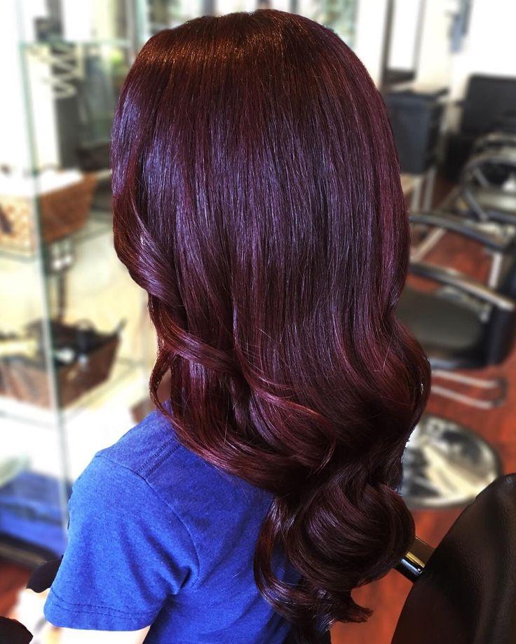 Best 25+ Black cherry hair ideas on Pinterest | Black ...