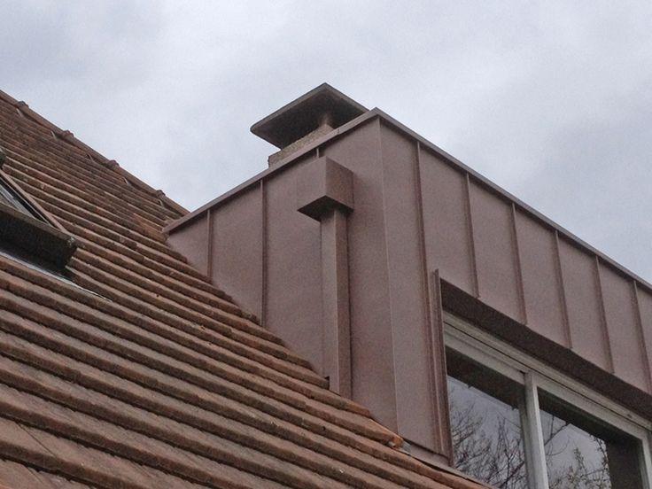 Les 25 meilleures id es concernant zinc toiture sur - Planche de rive alu ...