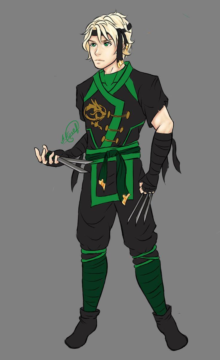 Lloyd in the 6th season by on - Ninjago lloyd ...