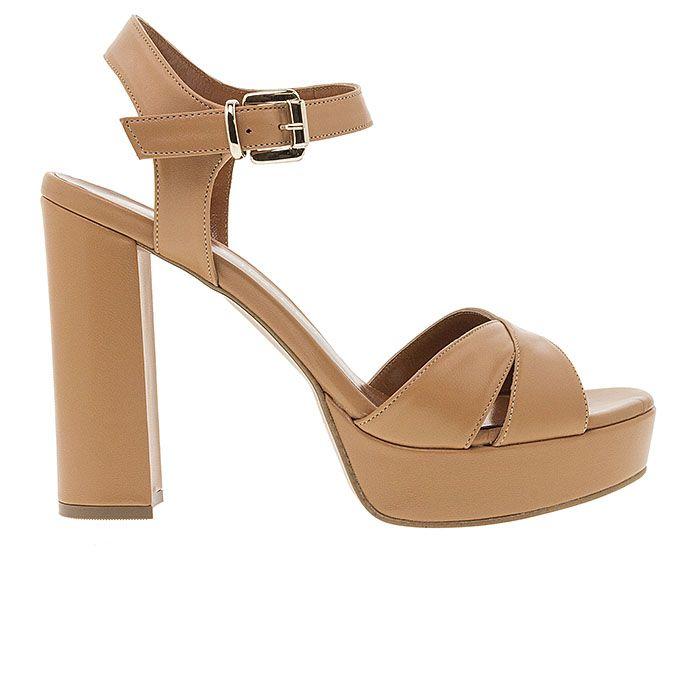 850F11-CAMEL LEATHERwww.mourtzi.com #sandals #heels #mourtzi #greekdesigners #wow