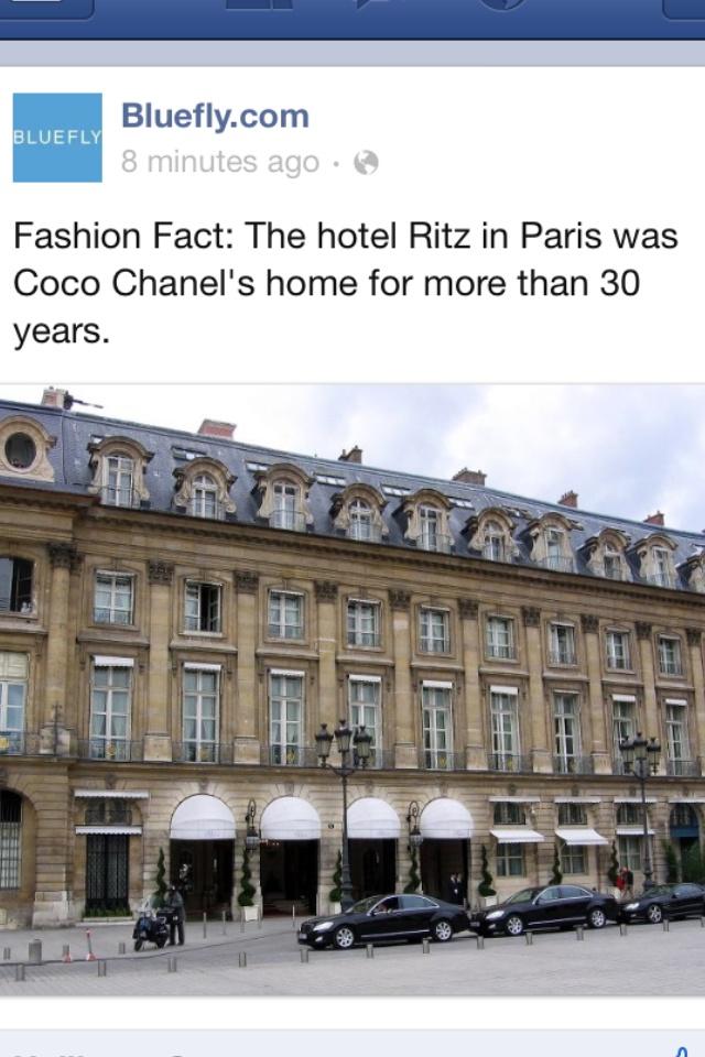 Hotel Ritz in Paris! Beautiful