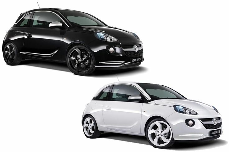 Vauxhall Motors launches ADAM Black and ADAM White limited editions @ £14,995...