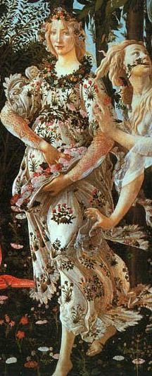 Flora from Botticelli's Primavera