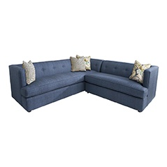 Diva Divine L Shaped Sectional Assorted Fabrics HGTV Furniture