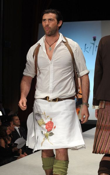 """Models walk the runway at the 8th annual """"Dressed To Kilt"""" Charity Fashion Show presented by Glenfiddich at M2 Ultra Lounge on April 5, 2010 in New York City. - 102 of 190"""