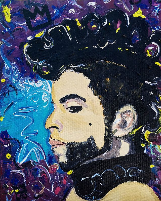Prince 8 x 10 Oil on Canvas  LAUREN BROOKE SANCHEZ ART