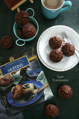 Dydie The Kitchen Hero: Lima Belas Tips Membuat Muffin Cokelat Buttermilk ...