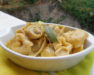 Tortelli ai funghi con gorgonzola dolce