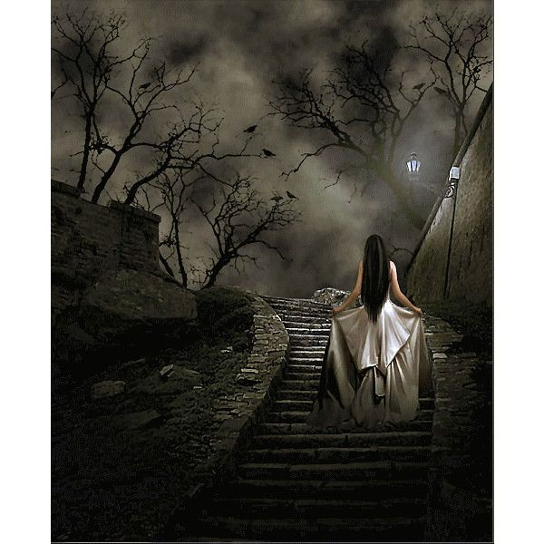 Tubes Gothique ❤ liked on Polyvore featuring backgrounds, gothic, people backgrounds, gothic art and art