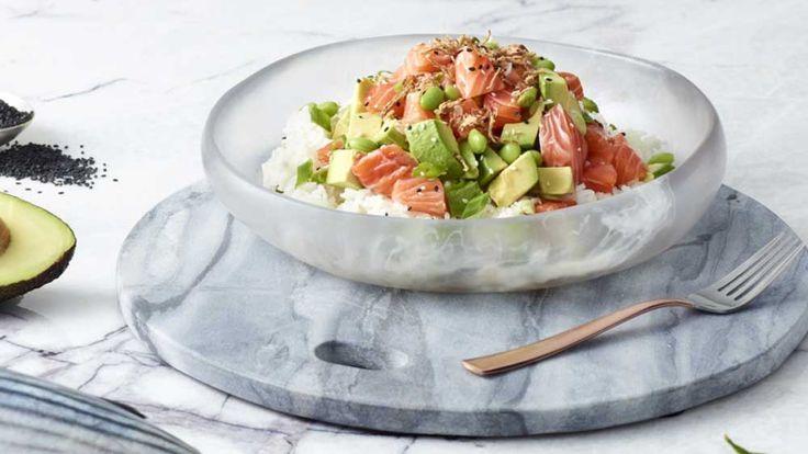 Poku's salmon and avocado 'salmocado' poké bowl recipe - 9Kitchen